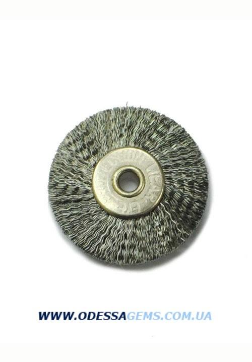 Купить Полировальный Круг 22 мм гофрированная стальная щетина