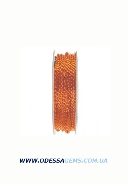 Купить Шелковый шнур Милан 301 2.0 мм Цвет: Оранжевый