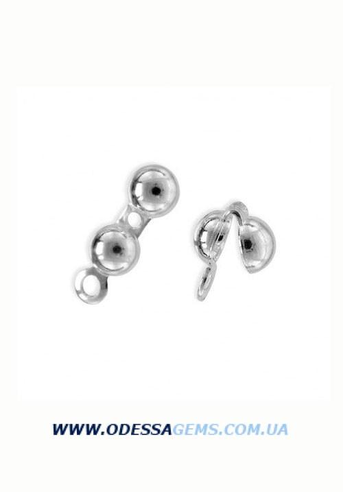 Каллоты - серебро 925 пробы 0.40 гр