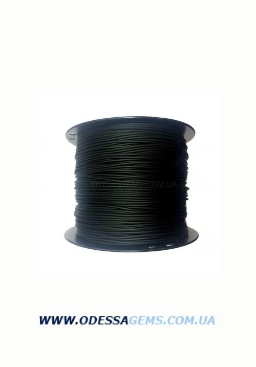 2,0 мм, Каучуковый шнур Черный (Тайвань)